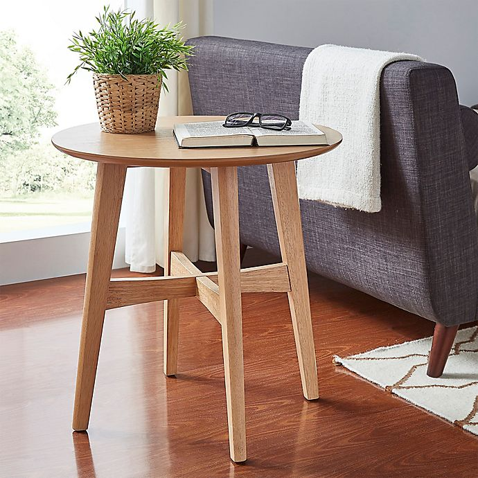 Alternate image 1 for iNSPIRE Q® Promesa Danish Wood Accent Table