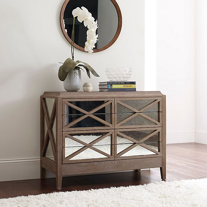 Buy tommy hilfiger ludo dresser in oak from bed bath beyond for Tommy hilfiger bedroom furniture