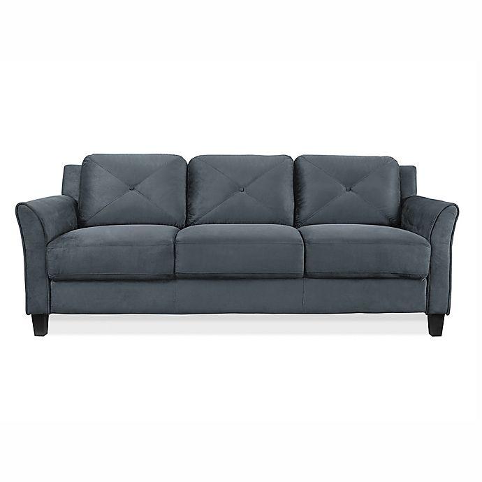 Alternate image 1 for Wycliff Sofa in Dark Grey