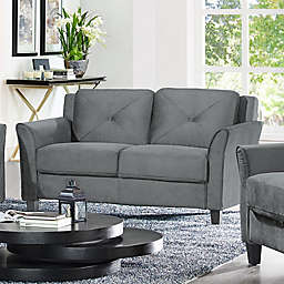 Wycliff Loveseat in Dark Grey