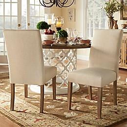iNSPIRE Q® Auburn Hills Parsons Chairs in Beige (Set of 2)