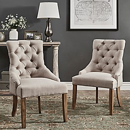 iNSPIRE Q® Treviso Button-Tufted Dining Chairs (Set of 2)