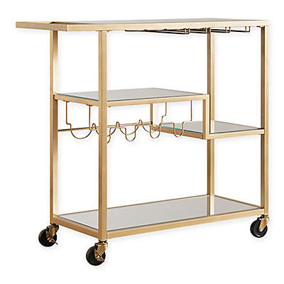 iNSPIRE Q Georgina Bar Cart in Gold