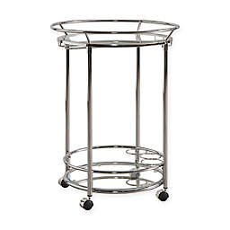 iNSPIRE Q® Gale Round Bar Cart in Chrome