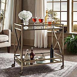 iNSPIRE Q® Grenshaw Bar Cart in Antique Brass