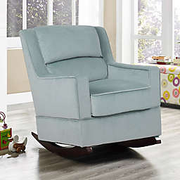 Relax-A-Lounger™ Branton Nursery Rocking Chair in Serenity Blue