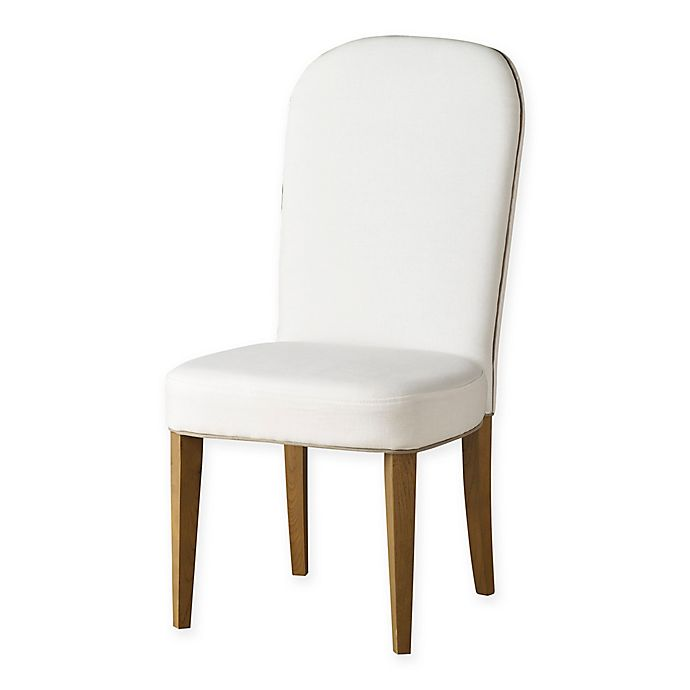 Outstanding Tommy Hilfiger Alyssa Linen Dining Chairs In White Set Of 2 Short Links Chair Design For Home Short Linksinfo