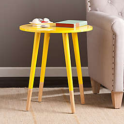 Southern Enterprises Laney Accent Table in Yellow