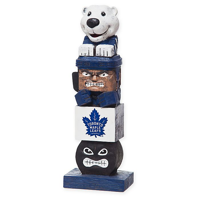 Alternate image 1 for NHL Toronto Maple Leafs Tiki Totem