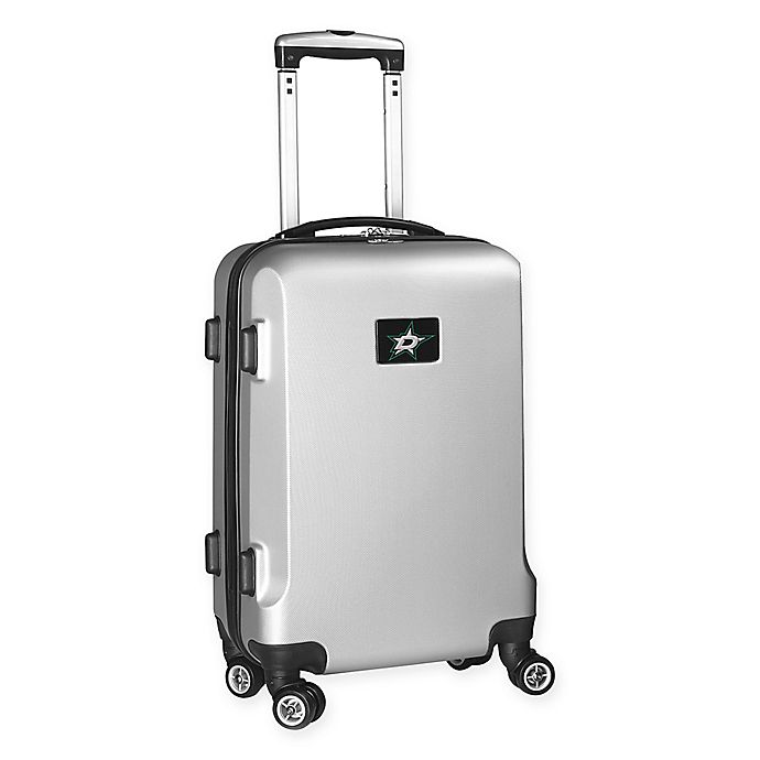 Alternate image 1 for NHL Dallas Stars 20-Inch Hardside Carry On Spinner in Silver