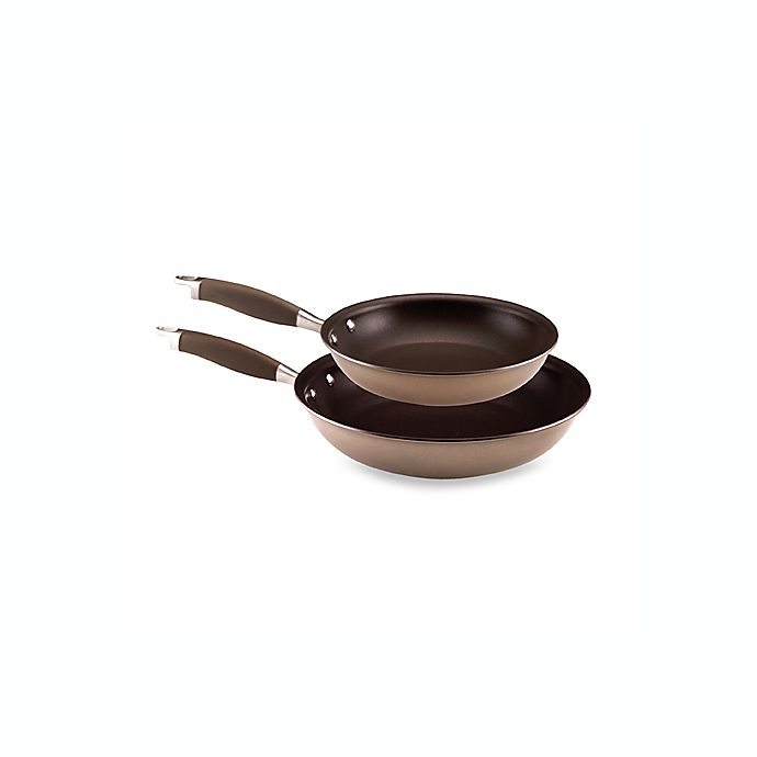 Alternate image 1 for Anolon® Advanced Bronze 10-Inch and 12-Inch Open Skillet Set