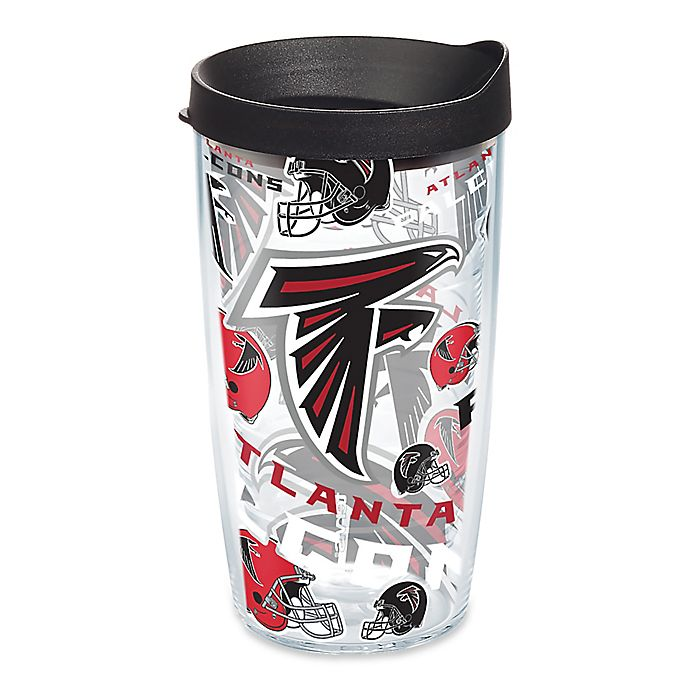 Alternate image 1 for Tervis® NFL Atlanta Falcons 16 oz. Allover Wrap Tumbler with Lid