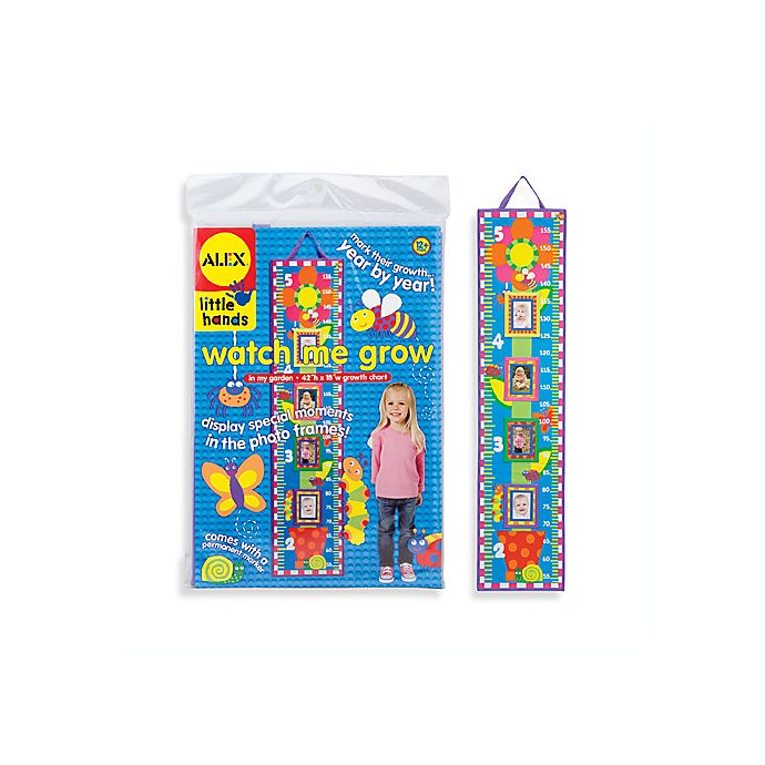 Watch Me Grow In My Garden Growth Chart By Alex Toys Bed Bath