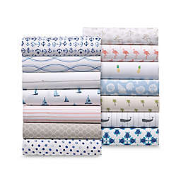 Coastal Life 300-Thread-Count Pillowcase Pair