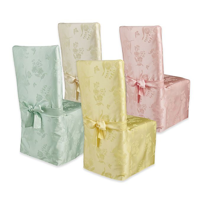 Fabulous Spring Splendor Dining Room Chair Cover Bed Bath Beyond Squirreltailoven Fun Painted Chair Ideas Images Squirreltailovenorg