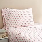 Coastal Life Flamingo 300-Thread-Count Full Sheet Set in Pink