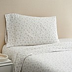 Coastal Life Reef 300-Thread-Count Standard  Pillowcase Pair in Grey