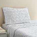 Coastal Life Dot 300-Thread-Count Standard Pillowcase Pair in Blue/White