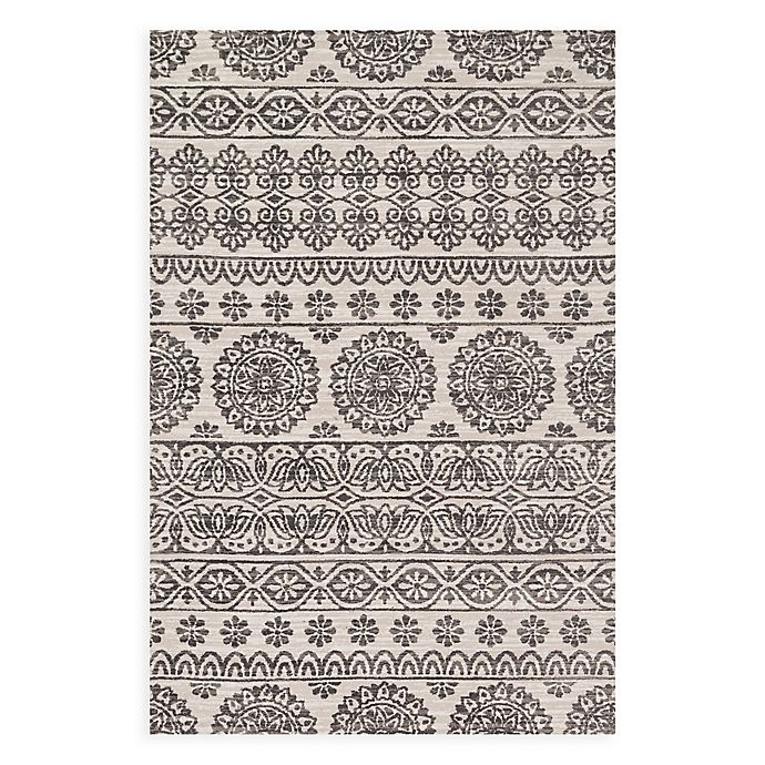 Alternate image 1 for Magnolia Home by Joanna Gaines Lotus 3'6 x 5'6 Area Rug in Ivory/Mink Gold