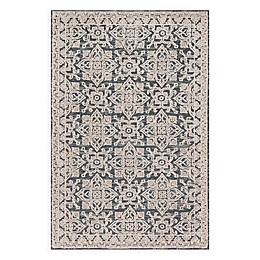 Magnolia Home by Joanna Gaines Lotus 3'6 x 5'6 Area Rug in Fog/Beige