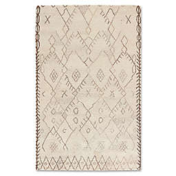 Jaipur Safi Majorelle Rug in Beige/Brown