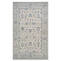Couristan® Sultan Treasures All Over Mashhad 5-Foot 3-Inch x 7-Foot 6-Inch Area Rug in Grey