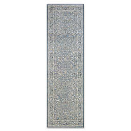 Couristan® Sultan Treasures Floral Yazd 2-Foot 7-Inch x 7-Foot 10-Inch Runner in Slate Blue
