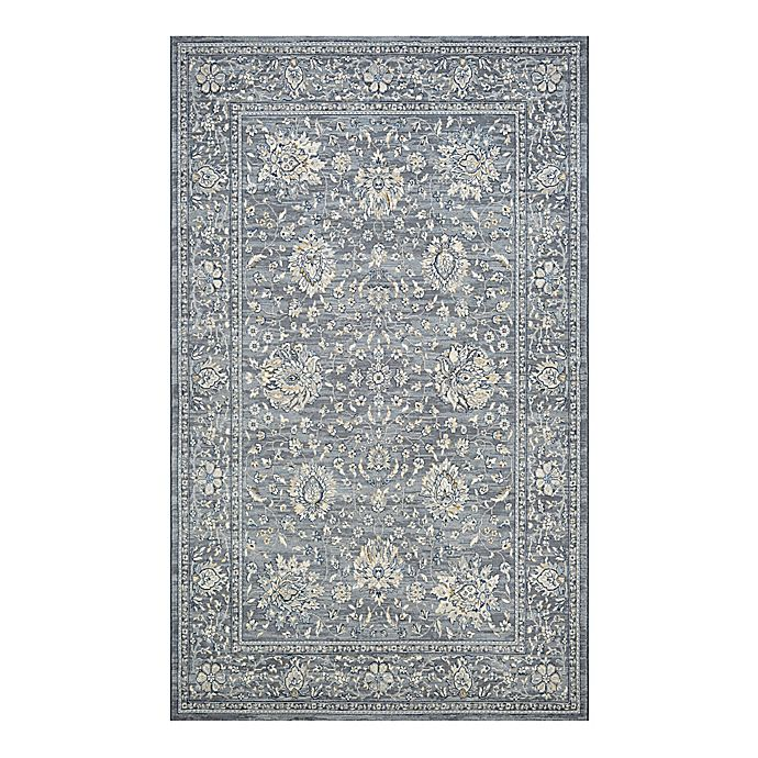 Alternate image 1 for Couristan® Sultan Treasures Persian Isfahn 9-Foot 2-Inch x 12-Foot 5-Inch Area Rug in Slate