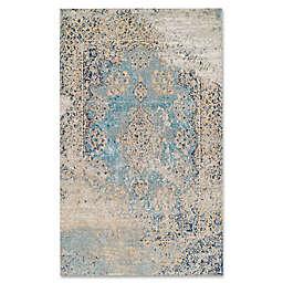 Couristan® Vintage Antique Tabriz Rug in Light Blue
