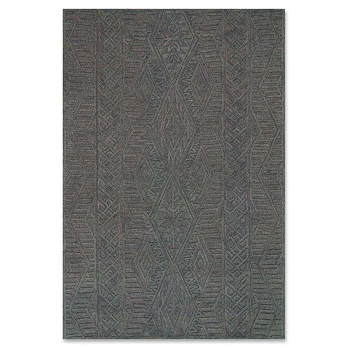 Alternate image 1 for ED Ellen DeGeneres Glendale Wool 7-Foot 9-Inch x 9-Foot 9-Inch Area Rug in Grey