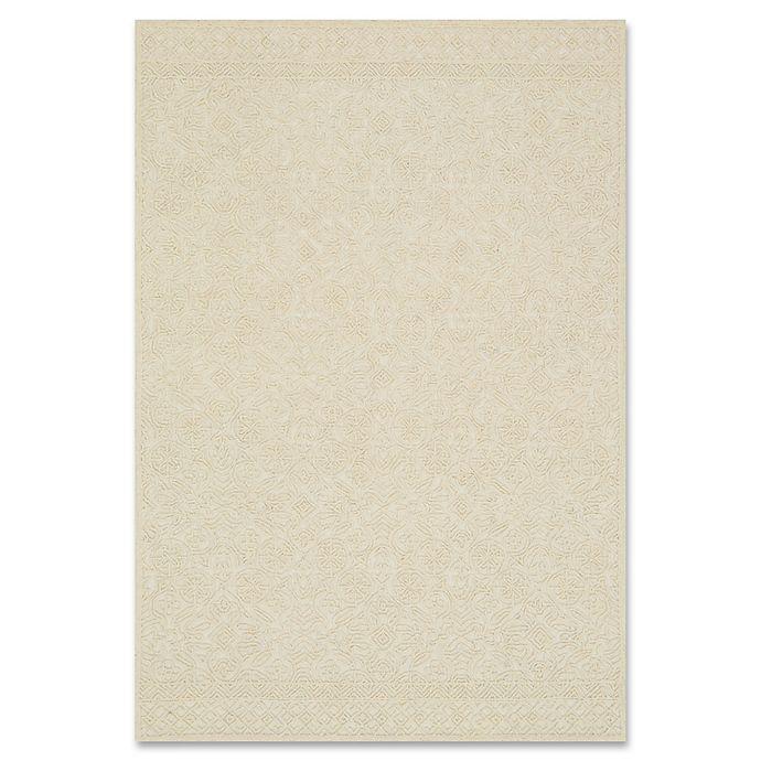 Alternate image 1 for ED Ellen DeGeneres Glendale Wool 7-Foot 9-Inch x 9-Foot 9-Inch Area Rug in Ivory