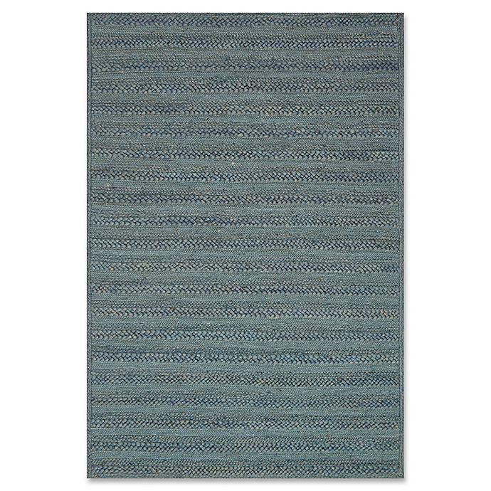 Alternate image 1 for ED Ellen DeGeneres Ludlow Jute 7-Foot 9-Inch x 9-Foot 9-Inch Area Rug in Blue