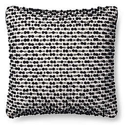 Magnolia Home Ruth 18-Inch x 18-Inch Throw Pillow in White/Black