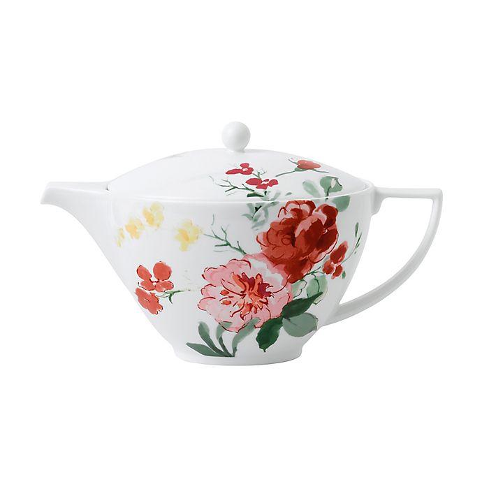 Alternate image 1 for Wedgwood® Jasper Conran Floral Teapot