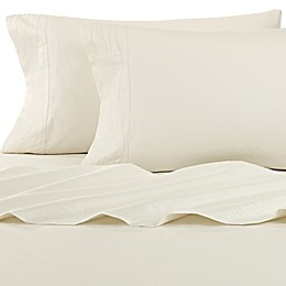 Kelly Wearstler Canyon Shoreline Flat Sheet in Ivory
