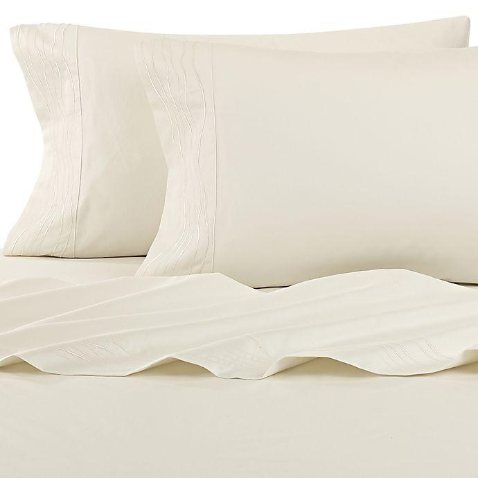 Alternate image 1 for Kelly Wearstler Canyon Shoreline Pillowcases in Ivory (Set of 2)