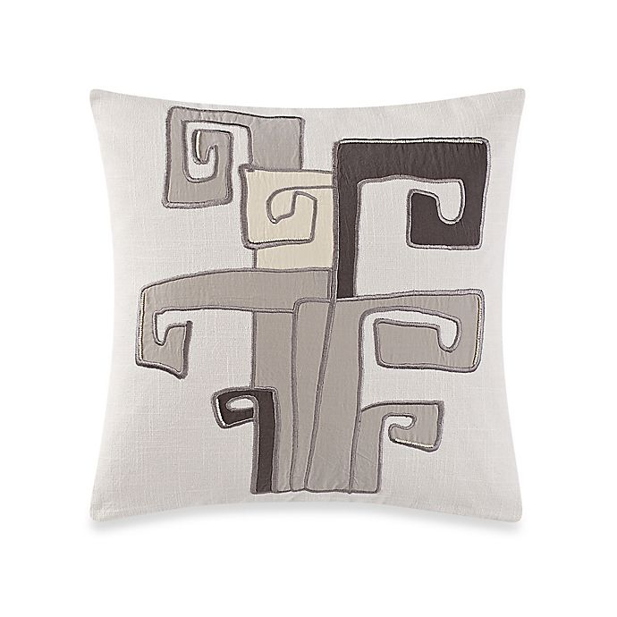 Alternate image 1 for Kelly Wearstler Canyon Inlander Square Throw Pillow in Breeze