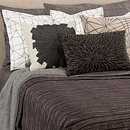 Kelly Wearstler Haze Coverlet in Charcoal