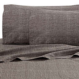 Kelly Wearstler Haze Mesh Fitted Sheet in Dusk