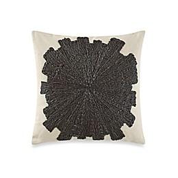 Kelly Wearstler Eliptic Square Throw Pillow in Jet