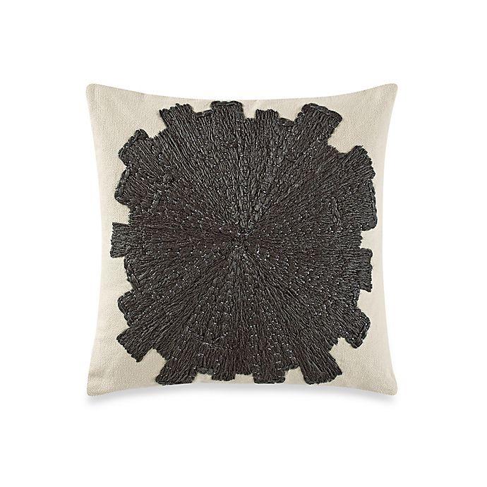 Alternate image 1 for Kelly Wearstler Eliptic Square Throw Pillow in Jet