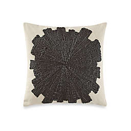 Kelly Wearstler Eliptic Square Throw Pillow in Jet