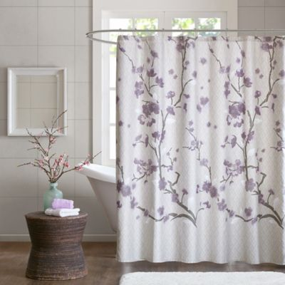Madison Park Holly 72 Inch Shower Curtain