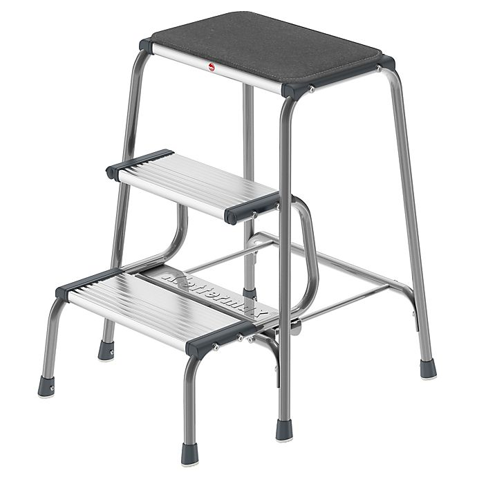 Hailo Retro Step Stool In Grey Bed Bath Amp Beyond