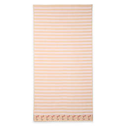 Flamingo Beach Towel in Pink