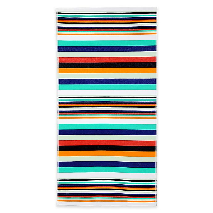 French Stripe Beach Towel Bed Bath