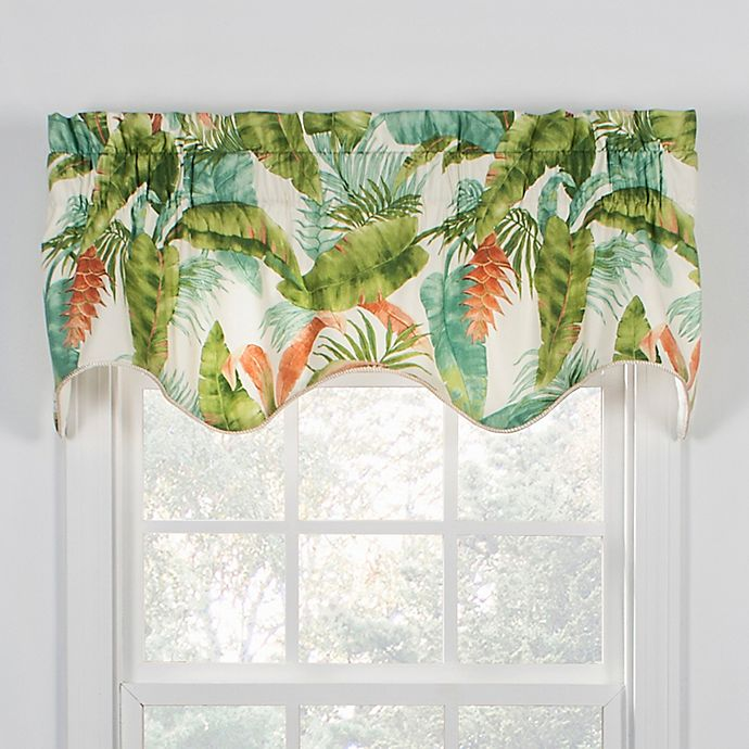 Alternate image 1 for Azul Window Valance in Teal