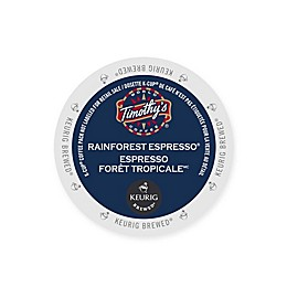 Timothy's® World Coffee Rainforest Espresso Bold Keurig® K-Cup® Pods 12-Count