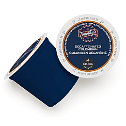 Timothy's World Coffee Columbian Medium Decaf Keurig® K-Cup® Pods 12-Count