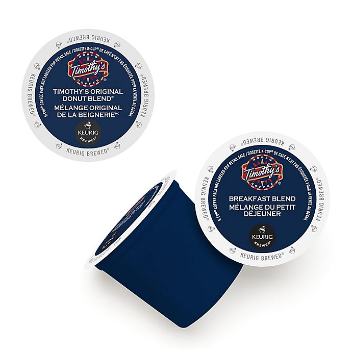 Alternate image 1 for Keurig® K-Cup® 48-Count Timothy's World Coffee